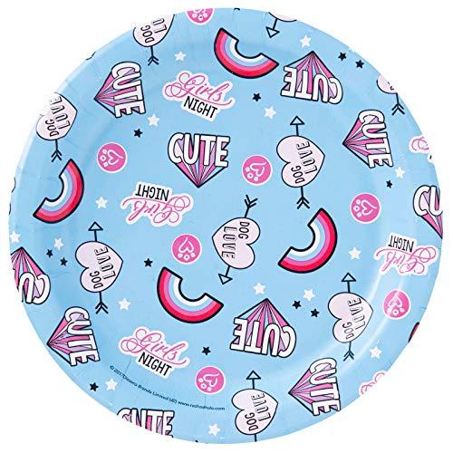 BirthdayExpress Rachael Hale Party Supplies Dog Love Dessert Plates (8)
