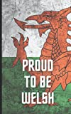 Proud to be Welsh Notebook: Ideal gift if you love Wales and the passion for culture and people of this beautiful country. Welsh Rugby and Football fans too! Multi format pages.