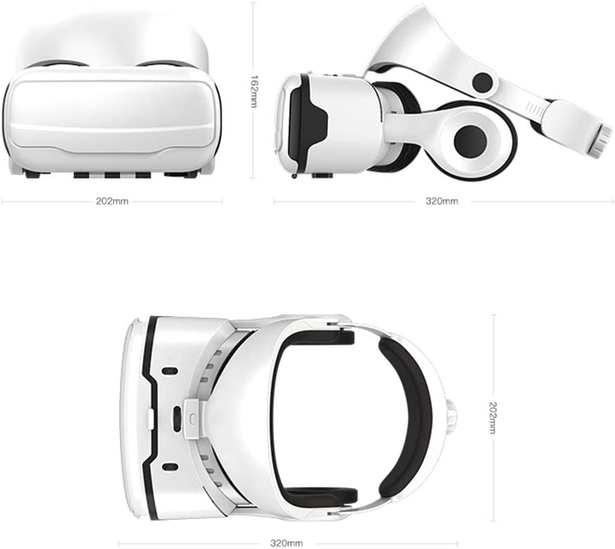 Pillows-RJF vr Headset Magic Mirror 10th Generation Vr Glasses Cell Phone Virtual Reality 3D Somatosensory Game Console Eye One Machine 4D The Film Wearing AR Intelligent
