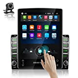 Podofo Double Din Car Stereo Android Head Unit 9.7 Inch Car Radio with GPS Car Entertainment Multimedia Player FM Radio WiFi/Bluetooth Tethering Internet, Dual USB Input + Backup Camera