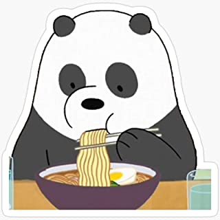 Deangelo Panda Eating Ramen Stickers (3 Pcs/Pack)
