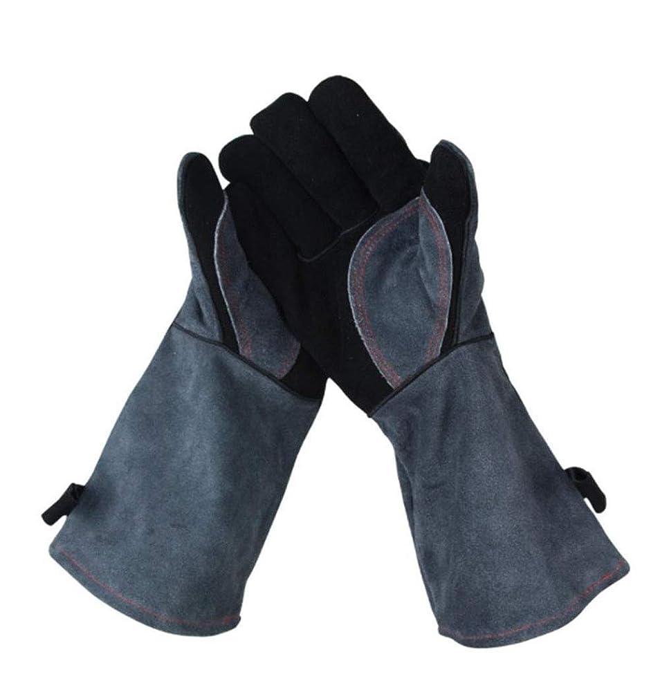 社会バラバラにするバイパス屋外バーベキュー手袋高温500度難燃絶縁キッチン電子レンジ