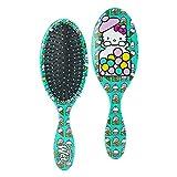 Wet Brush Original Hello Kitty Detangling Brush, Bubble Gum, All Hair Types, Ultra-Soft Intelliflex Bristles Glide Through Tangles with Ease, Blue