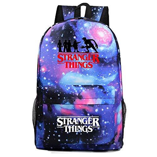 Stranger Things Backpack Stranger Things Lightweight Laptop Bag Back School Bookbag College Backpack to School for Teens Girls Boys