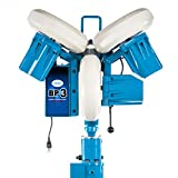 "Jugs BP3 Baseball Pitching Machine with Changeup - State of The Art 3 Wheel Pitching Machine, 40-90 mph Pitch Speeds, Realistic 64"" Delivery Height, Throws 9 Pitches at The Turn of a Dial"
