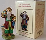 International Santas Nice Old Father - China Christmas Figurine (The Claus Collection)