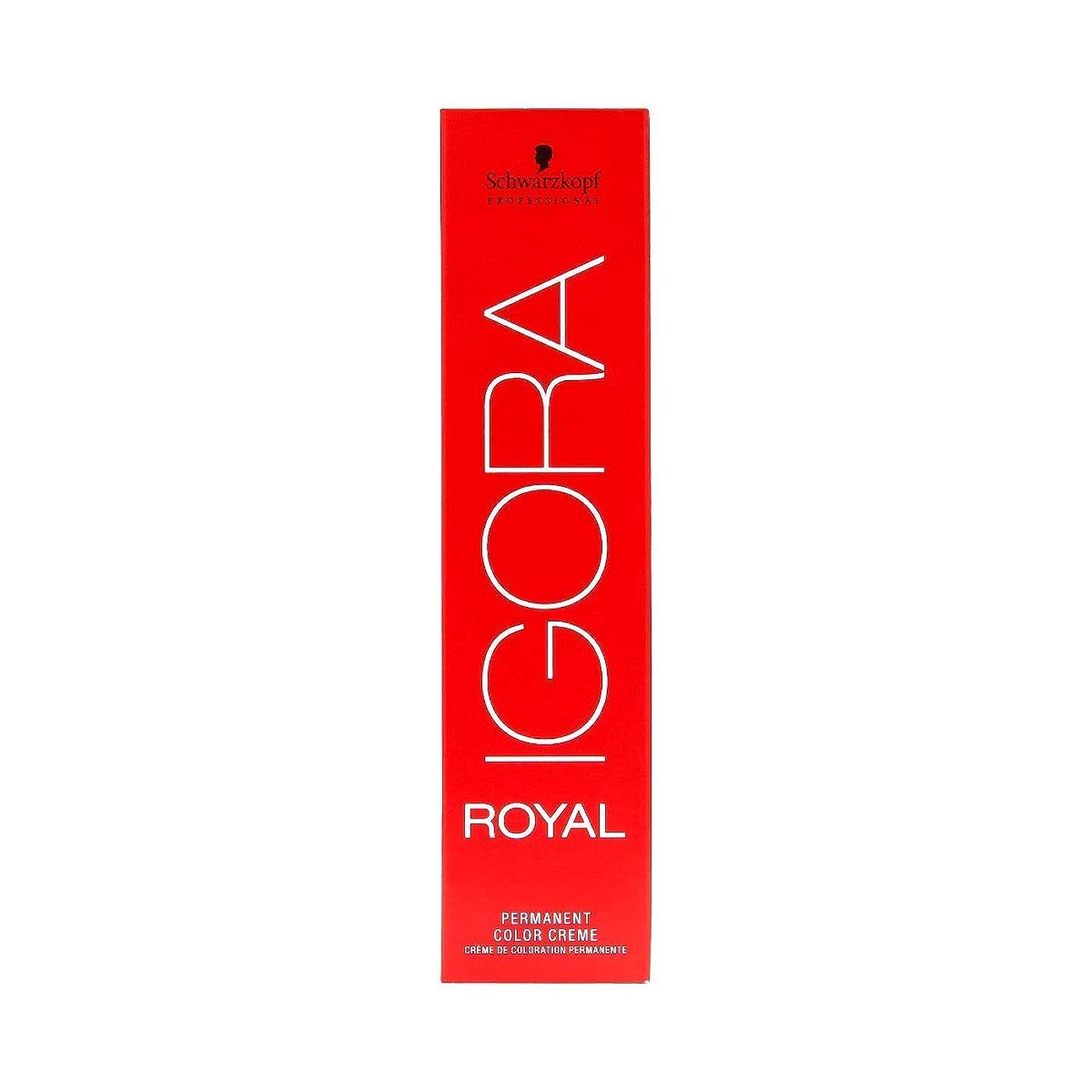 感度不愉快ラフシュワルツコフ IGORA ロイヤル6-99パーマネントカラークリーム60ml[海外直送品] [並行輸入品]