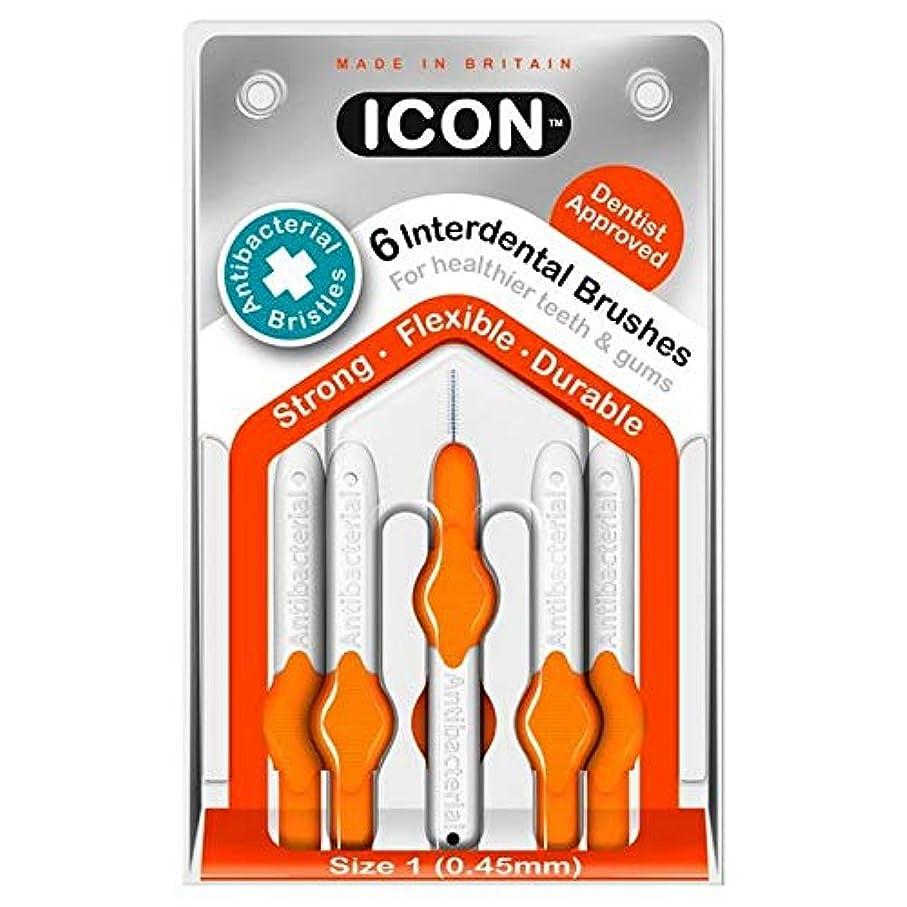 エジプト雪だるまを作る仮定する[Icon ] アイコンの歯間には、パックあたり0.45ミリメートル6ブラシ - Icon Interdental Brushes 0.45mm 6 per pack [並行輸入品]