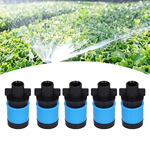 Gaeirt Cabezal de riego automático, Amplia Gama de Aplicaciones Herramienta de riego para césped Durable Resistente al Desgaste y Resistente a la corrosión....