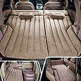 ZSLD Auto SUV Luftmatratze Camping Bed - Tragbare Reise Camping Sleep Pad Mit 2 Luftkissen / 1 Luftpumpe / 1 Repair Pad SUV Erweiterte Air Couch