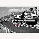 Druck auf Leinwand Wandkunst Bilder Ayrton Senna F1 Formel