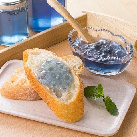 青い森の天然青色りんごジャム(小(95g))