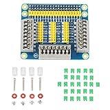 Placa GPIO Aramox, placa de expansión multifunción con puerto GPIO de 1 a 3 filas Plug and Play para Raspberry Pi 3/2 Módulo B