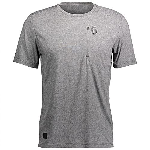 Scott Factory Wear DRI T-Shirt grau melange 2022: Größe: XXL (58)