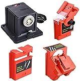 Multi función eléctrico cuchillo afilador/cincel/hoja plano/tijera/HSS broca afiladora uso de la máquina para herramientas de pulido multiusos