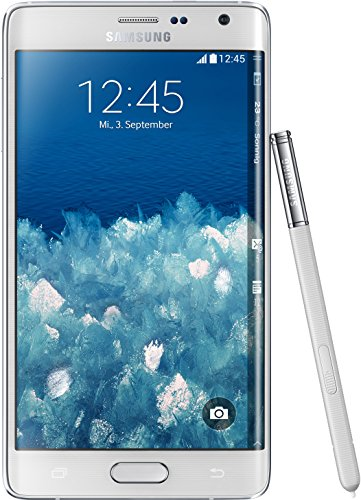 Samsung Galaxy Note Edge Smartphone (14,2 cm (5,6 Zoll) Super-AMOLED-Display, 2,7GHz Quad-Core Prozessor,  32 GB interner Speicher, 16 Megapixel-Kamera, Android 4.4) frost white