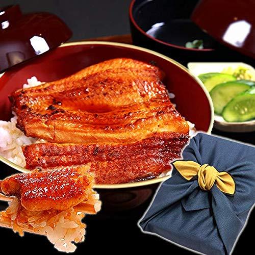 国産うなぎ ギフトランキング入り 国産 鰻(うなぎ)の蒲焼 小さめ訳ありサイズ(85〜95g) (風呂敷包み)