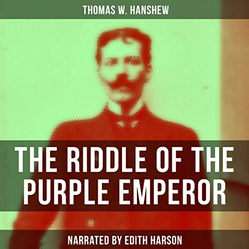 The Riddle of the Purple Emperor audiobook cover art