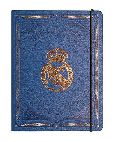 Erik Bullet Journal Notizbuch Premium Real Madrid- Hard Cover Notizblock