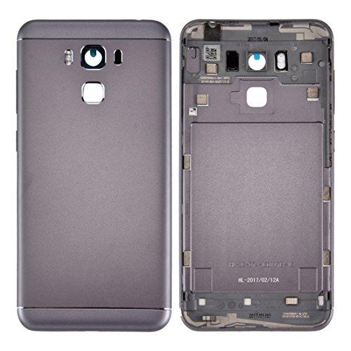 XINGCHEN Piezas de Repuesto Cubierta de batería Trasera de aleación de Aluminio for ASUS ZenFone 3 MAX / ZC553KL (Gris) (Color : Grey)