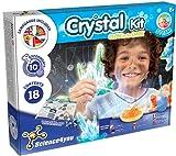 Science4you - Fabrica de Cristales para Niños +8 Años - Laboratorio de Ciencia con 8 Experimentos para Niños, Crea tus Cristales Brillantes, Juego de Geologia con Minerales para Niños 8-12 Años