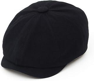 Jelord Boinas Hombre Algodón Ajustable al Aire Libre Gorra Sombrero Octogonal Sombrero de Vendedor de Periódicos Casual Vi...