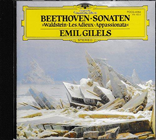 ベートーヴェン : ピアノソナタ 「ワルトシュタイン」、「熱情」、「告別」