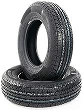 MOTOOS ST205/75R15 Trailer Tires 15 Inch Rim 8 PR Radial Tires Load Range D Pack of 2