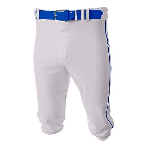 b71dabdce0f A4 Sportswear Baseball Softball Knee High Pants Old School Knickers (10  Youth Adult