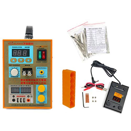 SUNKKO 788H-USB Precision Pulse Spot Welder +CC-CV Charge+Power Bank Test