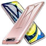 iBetter Slim Thin Protettiva per Samsung Galaxy A80 Cover,Morbido TPU,Antiurto Morbida Silicone Trasparente Custodia, per Samsung Galaxy A80 Smartphone.Trasparente