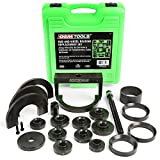 OEMTOOLS 37342 Master Wheel Hub and Bearing Remover and Installer Kit, Back and Front Wheel Bearing Puller Kit, Back and Front Wheel Hub Puller, Easy to Use