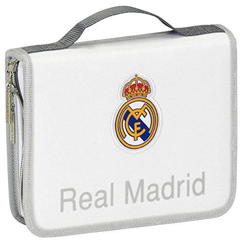 Real Madrid 2018 Trousses, 22 cm, Multicolore (Multicolor)