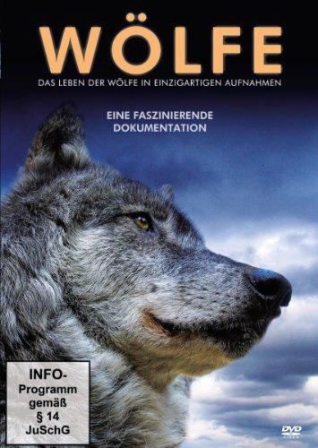 das Leben der Wölfe in Einzigartigen Aufnahm [Import]