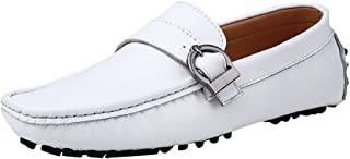 Baymate Antidérapant Plats Loafers Homme Mocassines Chaussures de Conduite