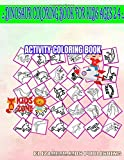 Dinosaur Coloring Book For Kids Ages 2 4: 35 Image Cryolophosaurus, Stegosaurus, Plateosaurus, Quetzalcoatlus, Gallimimus, Basilosaurus, Triceratops, ... Quizzes Words Activity And Coloring Books