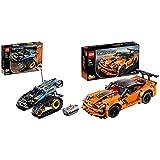 LEGO Technic - Vehículo Acrobático a Control Remoto, Coche Teledirigido de Juguete, Set de Construcción 2 en 1 + Technic - Chevrolet Corvette ZR1, maqueta de Coche de Juguete
