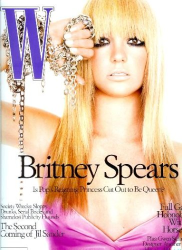W Magazine - August 2003 - Britney Spears Cover (Volume 32 Issue 8)