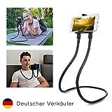 FLEXD-X Flexible Handy-Halterung Universal Stativ & Multifunktionaler Bett Handyhalter Nacken