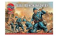 エアフィックス 1/76 ヴィンテージクラシックス 第一次世界大戦 フランス軍 歩兵 プラモデル X-0728V
