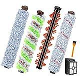 Huante 4 cepillos un rodillo, 1 filtro, 1 cepillo de limpieza, para CrossWave 1866 1785 2052 1713 2225 aspiradora