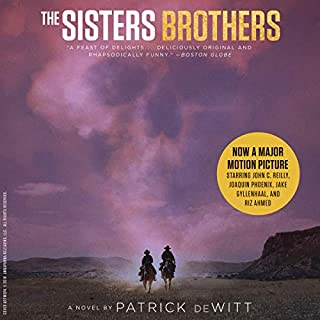 The Sisters Brothers audiobook cover art