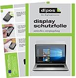 dipos I 2X Schutzfolie matt kompatibel mit Medion Akoya E7424 Folie Bildschirmschutzfolie