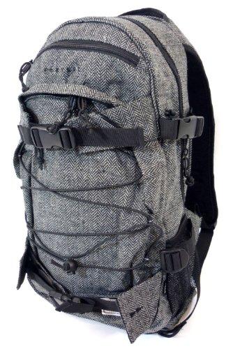 FORVERT New Louis Rucksack Backpack flannel grey herringsbone