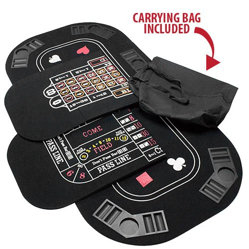 Brybelly 5 in 1 Deluxe Poker Tisch Top - 5