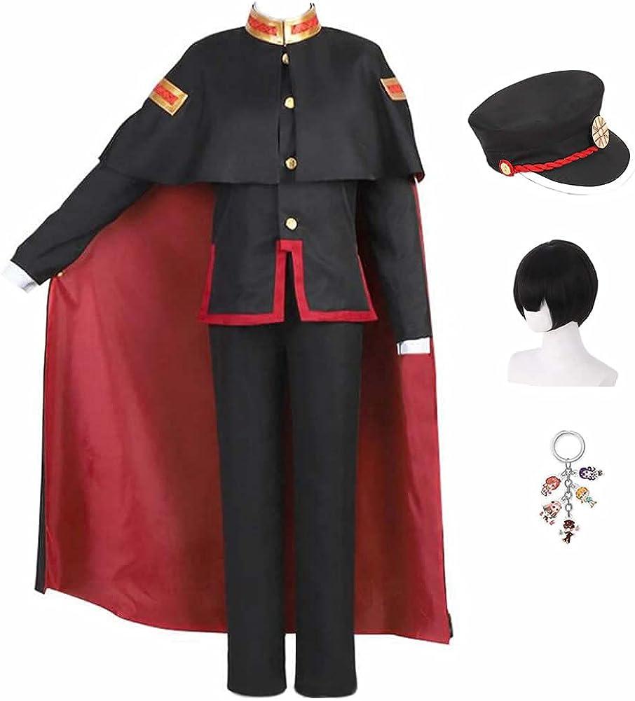 MNF Hanako Cheap super special price Kun Cosplay Amine Costume Hanako-kun Toilet-bound Max 40% OFF Hat