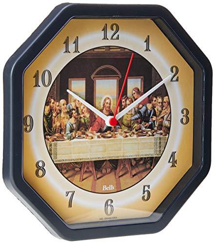 Relógio de Parede Oitavado Santa Ceia, Bell's, Multicor