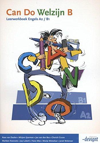 Welzijn Leerwerkboek B Engels A2/B1 (Can do)