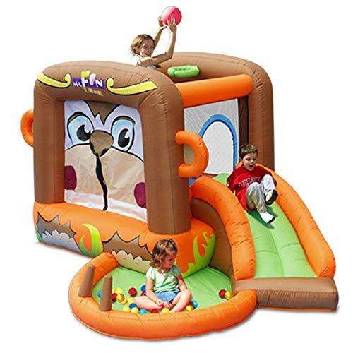 ZUIZUI Castillos hinchables Castillo inflado de los niños Kindergarten Diapositivas para niños Los Juguetes para niños al Aire Libre Grande