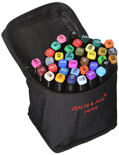 12 pack Doppelspitze MINIMALE BLUTEN Reich Pigment fein permanent Graffiti Coloring Stoff pens